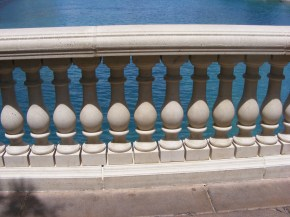 Railing at the Bellagio