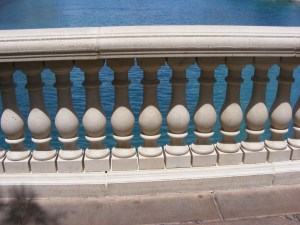 Railing at the Bellagio