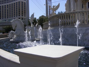 Fountain in Vegas