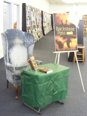 My signing throne.