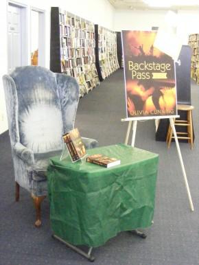My signing throne.