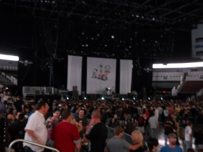 Three Days Grace Stage