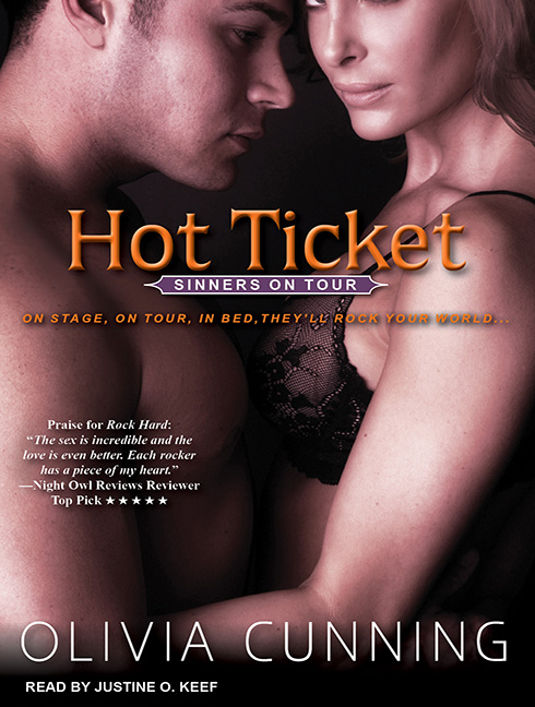 Hot Ticket Audio Book Cover