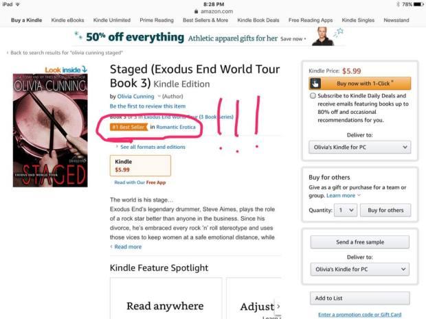 Staged best seller
